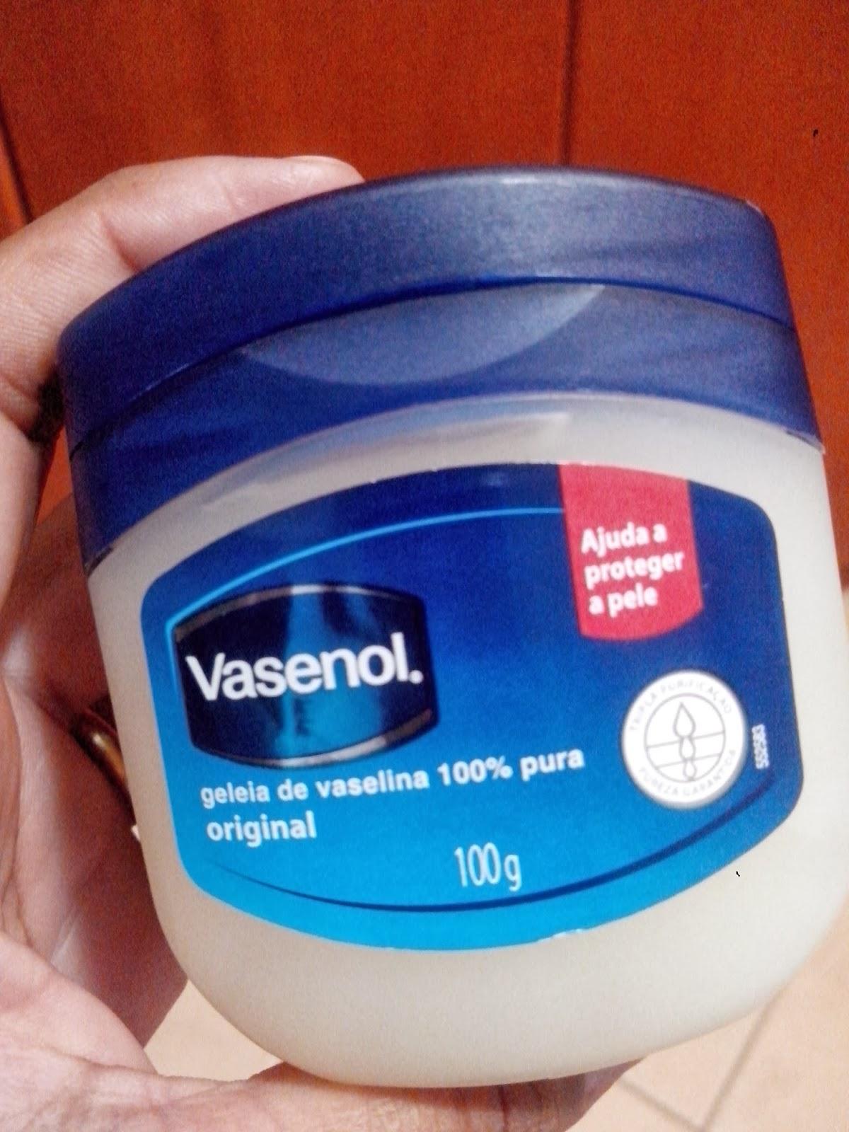 Vasenol Geléia de Vaselina Original Resenha